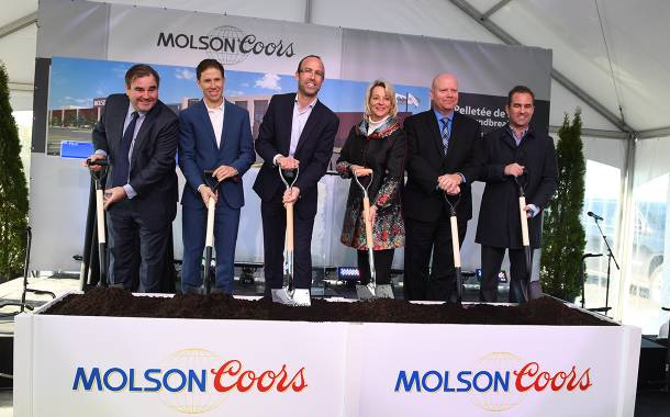 Molson Coors breaks ground on its most modern site in Canada