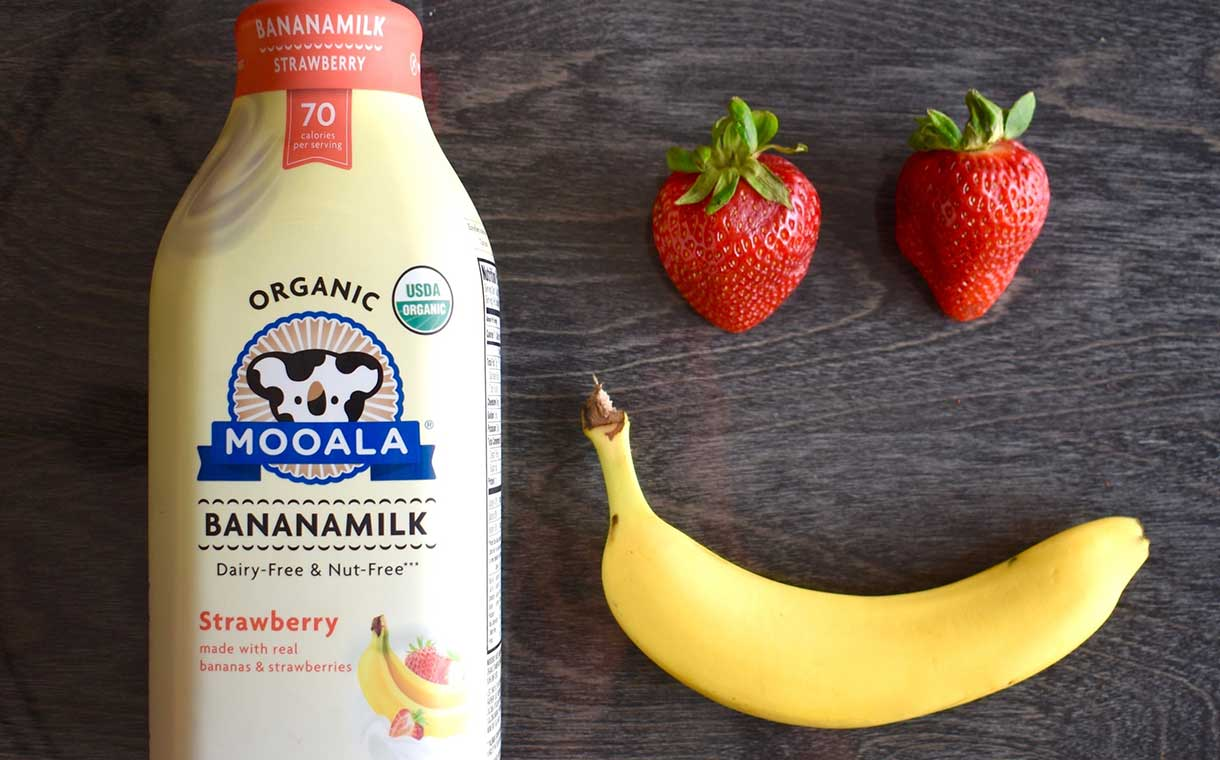 Mooala expands its Bananamilk line with new strawberry flavour