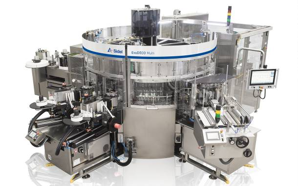 Sidel's EvoDECO Multi maximises labelling performance