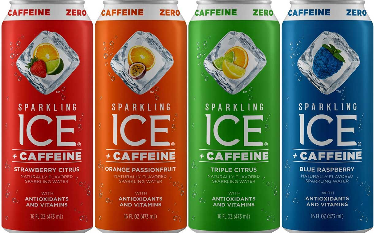 Talking Rain launches five-strong Sparkling Ice +Caffeine line in US