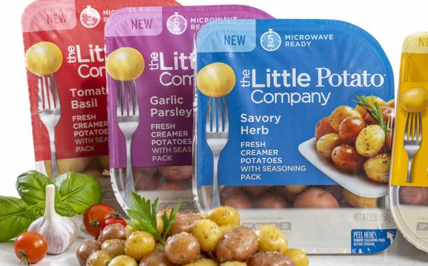 The Little Potato Company adds new variants and fresh packaging
