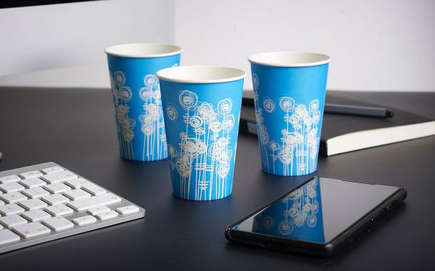 4 Aces releases Aqua swirl paper cup for water coolers