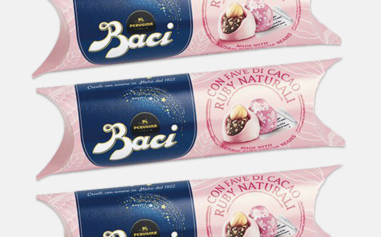 Nestlé releases ruby chocolate Baci Perugina in the UK