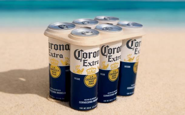 Corona to introduce plastic-free six-pack rings on its beer cans
