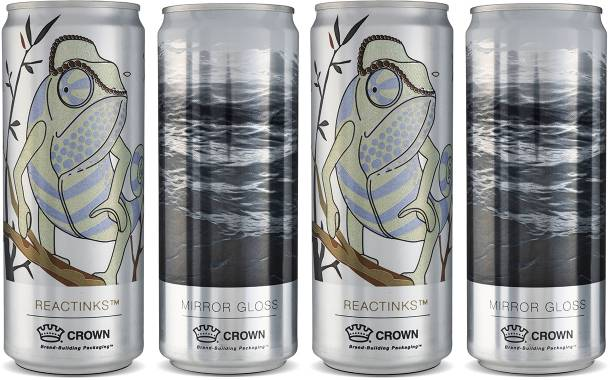 Crown's decorative can finishes seek to build customer loyalty