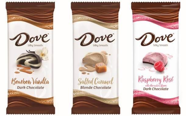 Mars releases new range of Dove chocolate bar flavours in the US