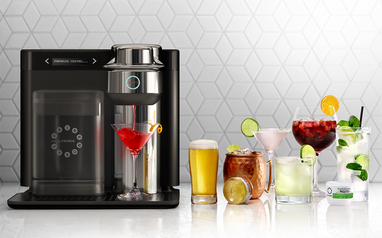 Ab Inbev And Keurig Launch New Pod Based Cocktail Machine In Us