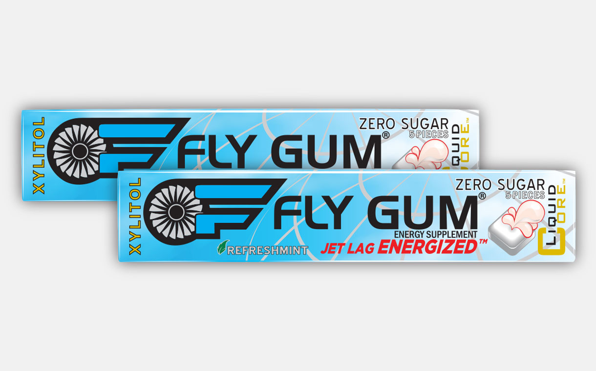 Apollo Brands releases Fly Gum to combat jet lag and fatigue