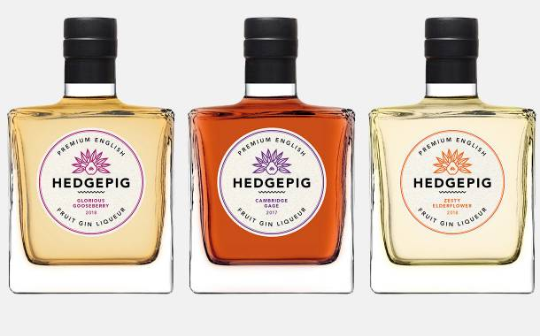 Pinkster adds new flavours to its Hedgepig gin liqueur range
