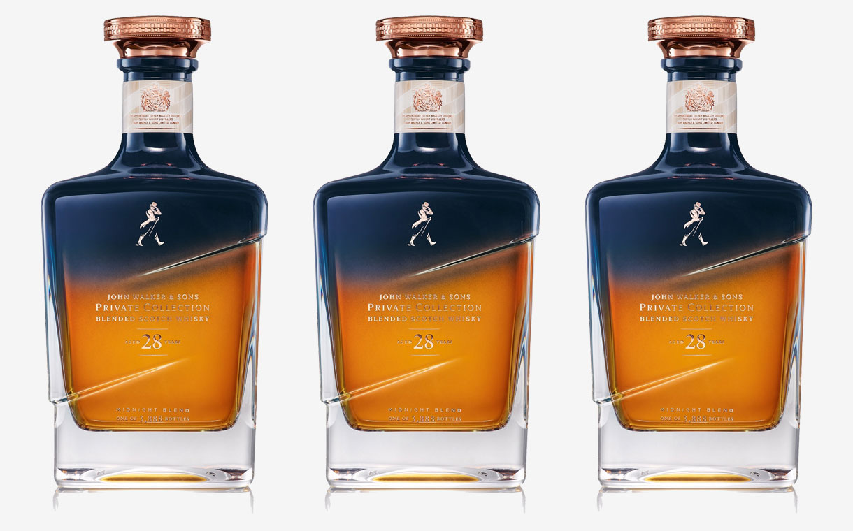 Johnnie Walker Releases Limited Edition Midnight Blend