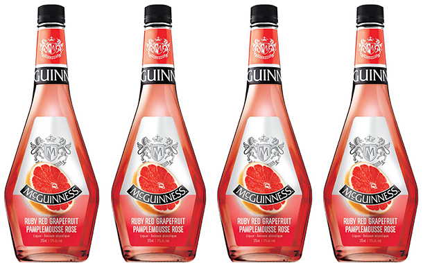 Corby unveils ruby red grapefruit McGuinness liqueur in Canada