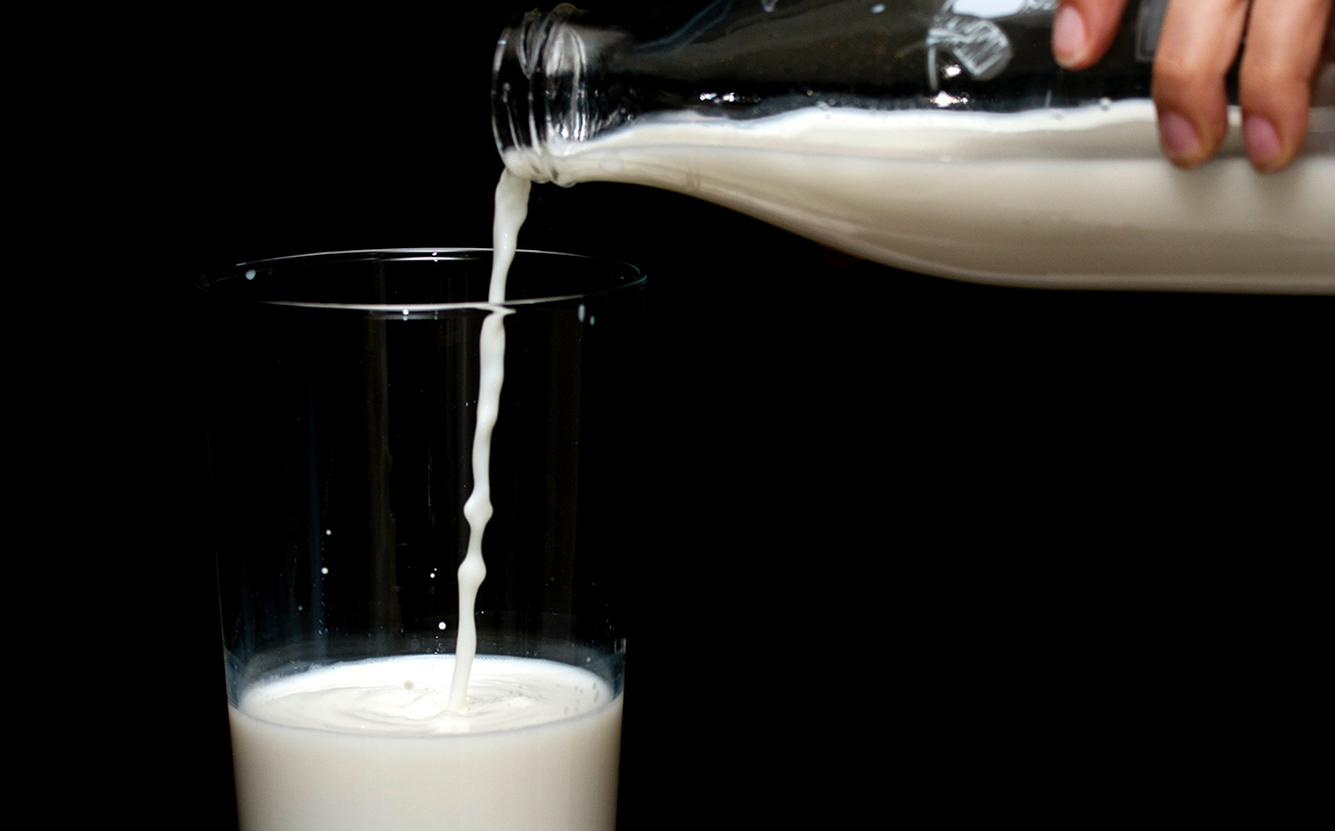 Research reveals that 7% of milk produced in the UK is wasted