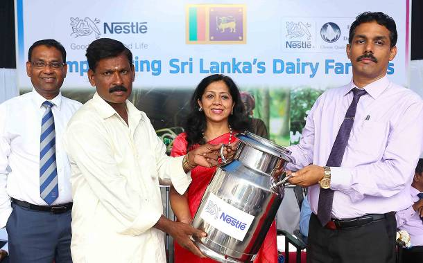 Nestlé boosts its Sri Lankan milk collection network with new site