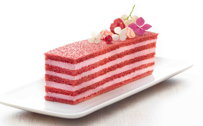 Pidy expands its frozen sponge sheet line with raspberry flavour