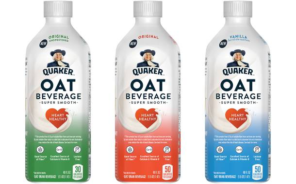 PepsiCo's Quaker launches range of oat-based beverages in US