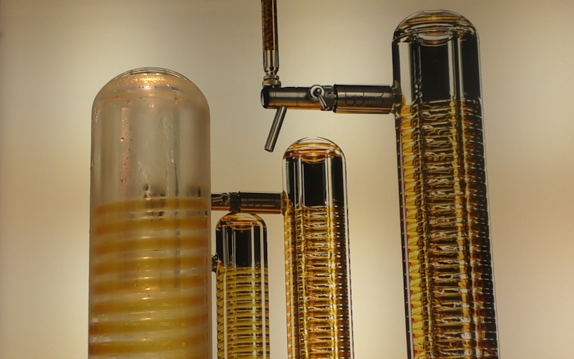 Interview: The glass beer tower that lets you see your beer flow