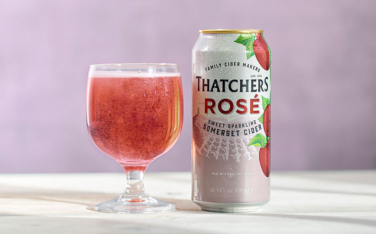 Thatchers Cider set to introduce new Rosé Cider in the UK