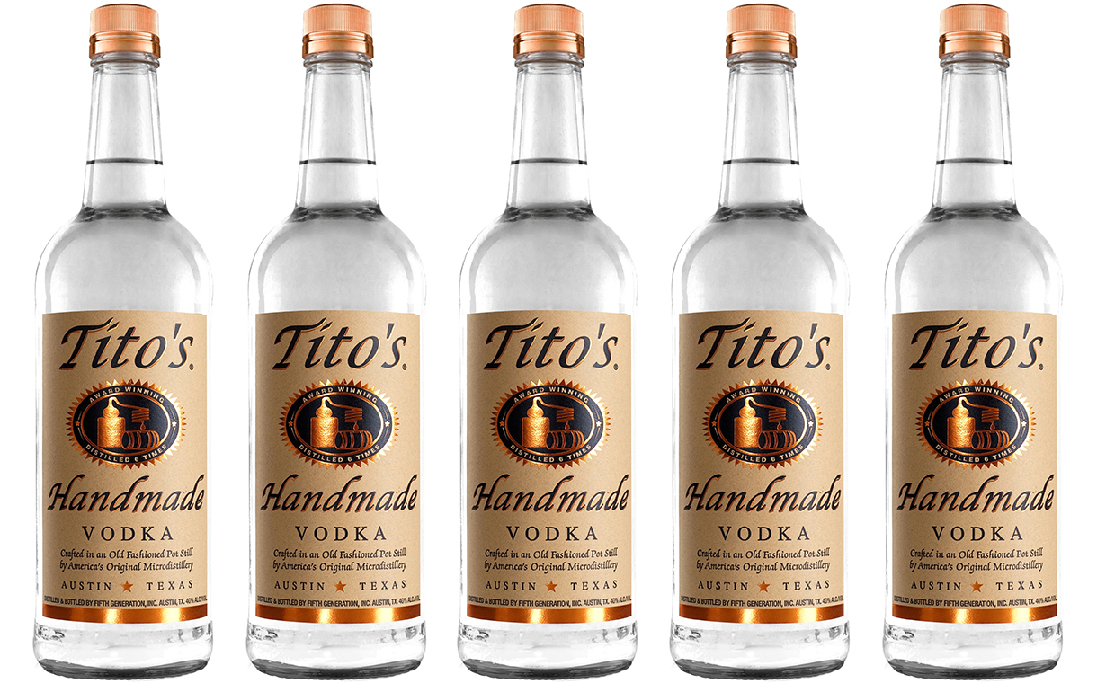 Tito's Handmade Vodka Secures Deal To Go On Sale In