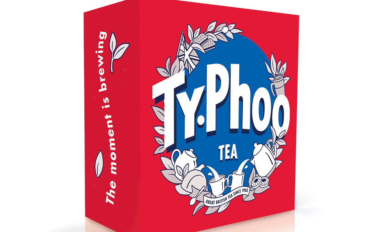 Typhoo launches new positioning with updated packaging design