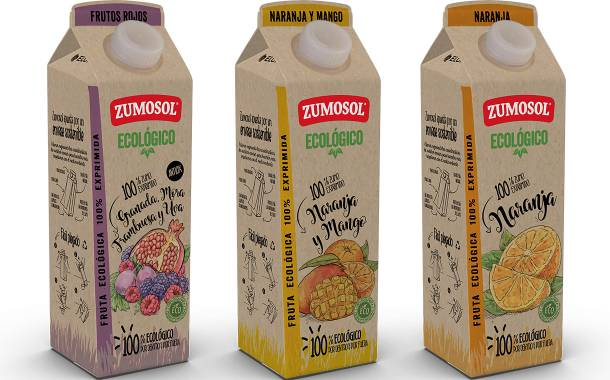 Zumosol uses Elopak's Pure-Pak cartons for its organic juice range