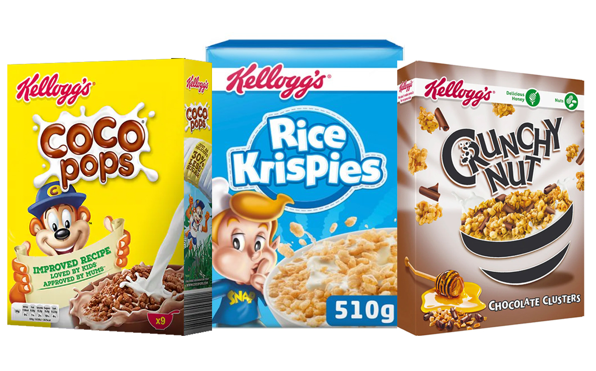 Kellogg's to include traffic light system on cereal labelling