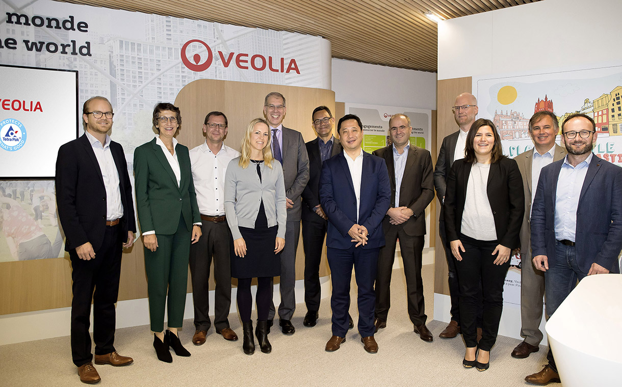 Tetra Pak teams up with Veolia to improve recyclability of cartons