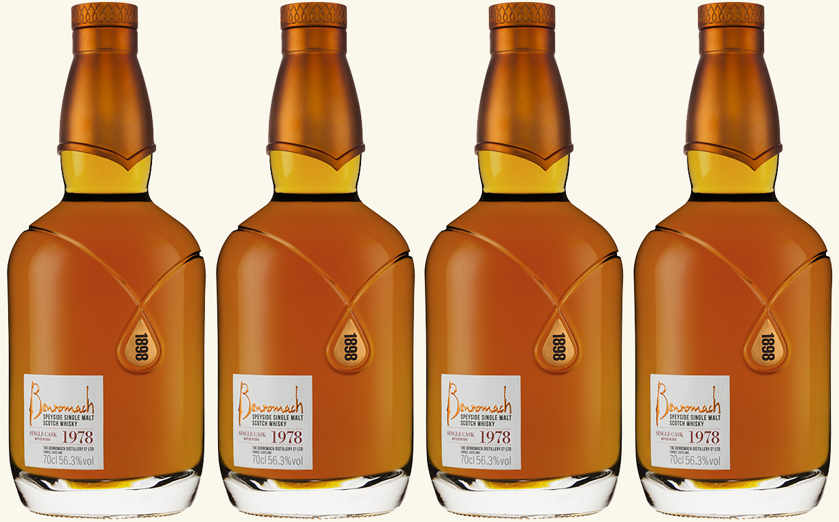 Benromach Distillery introduces limited-edition 1978 malt whisky