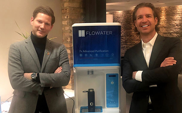 Bluewater invests $15m in US water startup FloWater