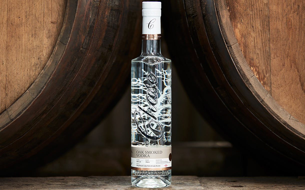 Chase Distillery unveils updated packaging for its range of vodka