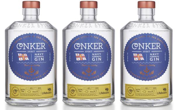 Conker Spirit partners with the RNLI to launch Navy Strength Gin