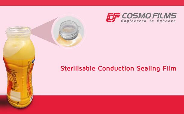 Cosmo Films unveils conduction sealing film for plastic bottles