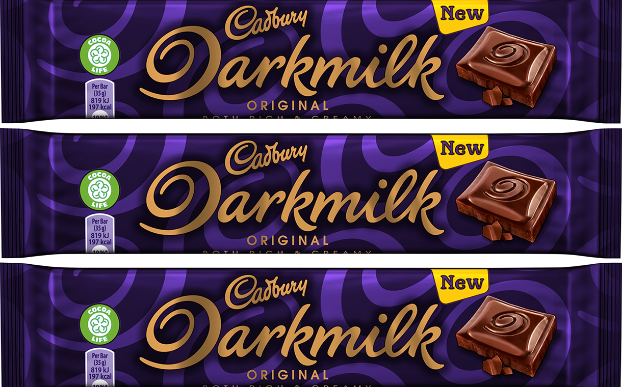 Cadbury extends Darkmilk range with new pack size and flavour