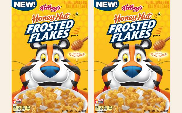 Kellogg's introduces Honey Nut Frosted Flakes breakfast cereal