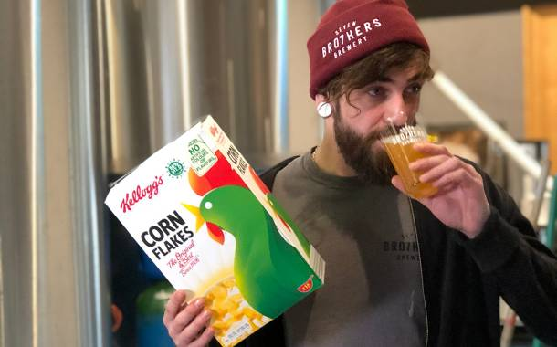 Kellogg joins Seven Bro7hers to turn waste Corn Flakes into beer