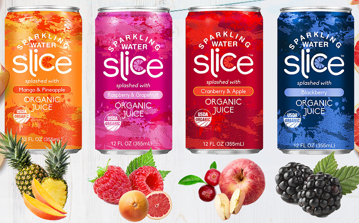 Revolution Brands releases Slice range of sparkling water in US