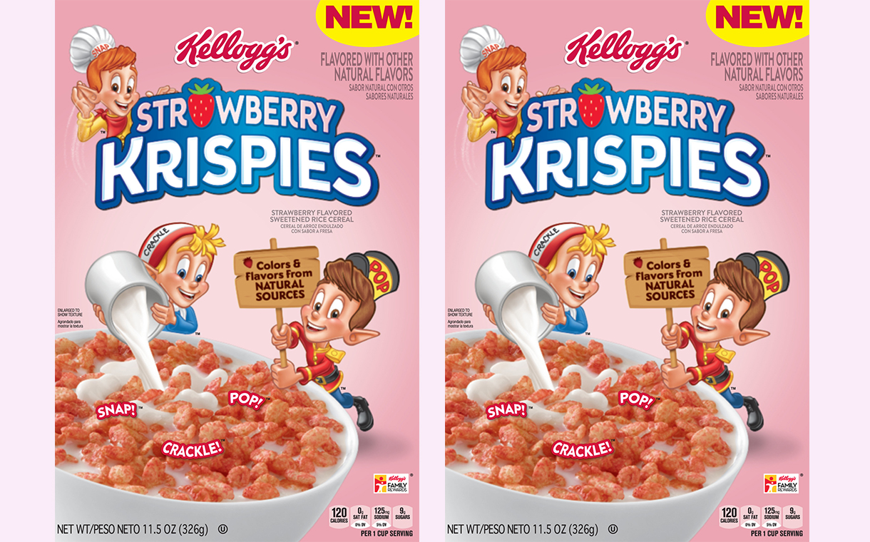 Kellogg boosts Rice Krispies line with Strawberry Krispies variant
