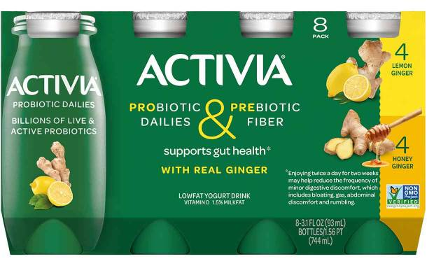 Dannon adds to Activia Probiotic Dailies line with two new variants