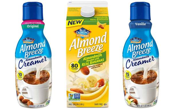 Blue Diamond releases trio of almond milk-based products