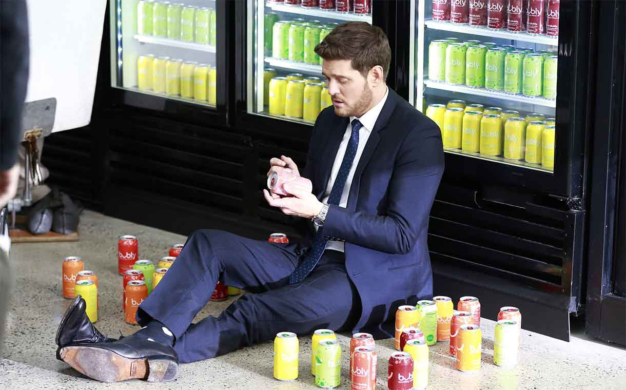 PepsiCo teams up with Michael Bublé for Bubly Super Bowl ad