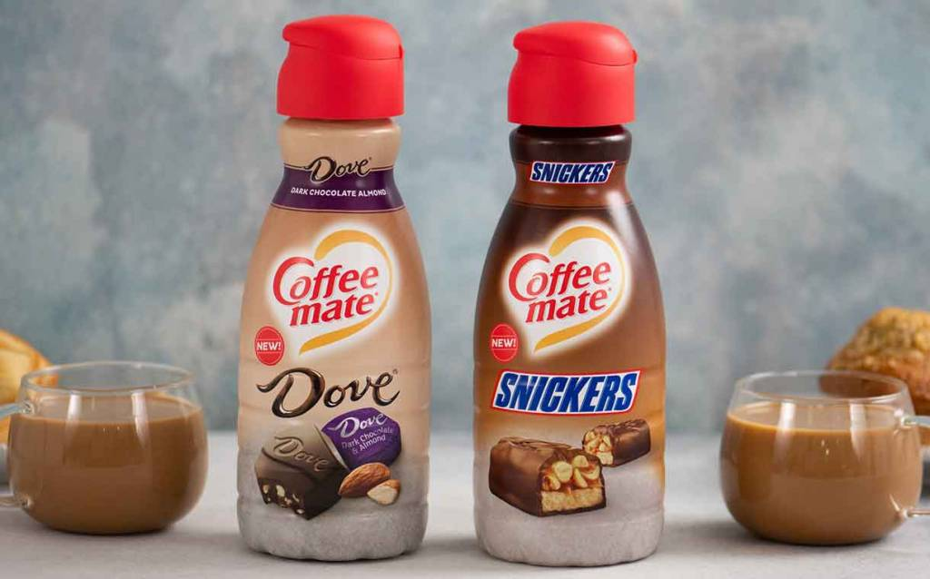 Nestlé Boosts Coffee Mate Line With Snickers And Dove