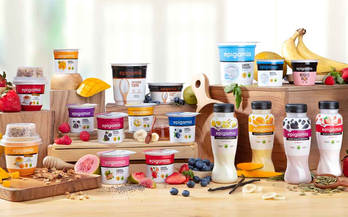 Danone leads $25.6m funding round in Indian brand Epigamia