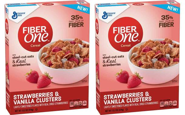 General Mills launches new Fiber One cereal with real strawberries