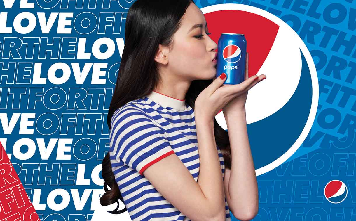 Pepsi launches 'For The Love Of It' global marketing campaign