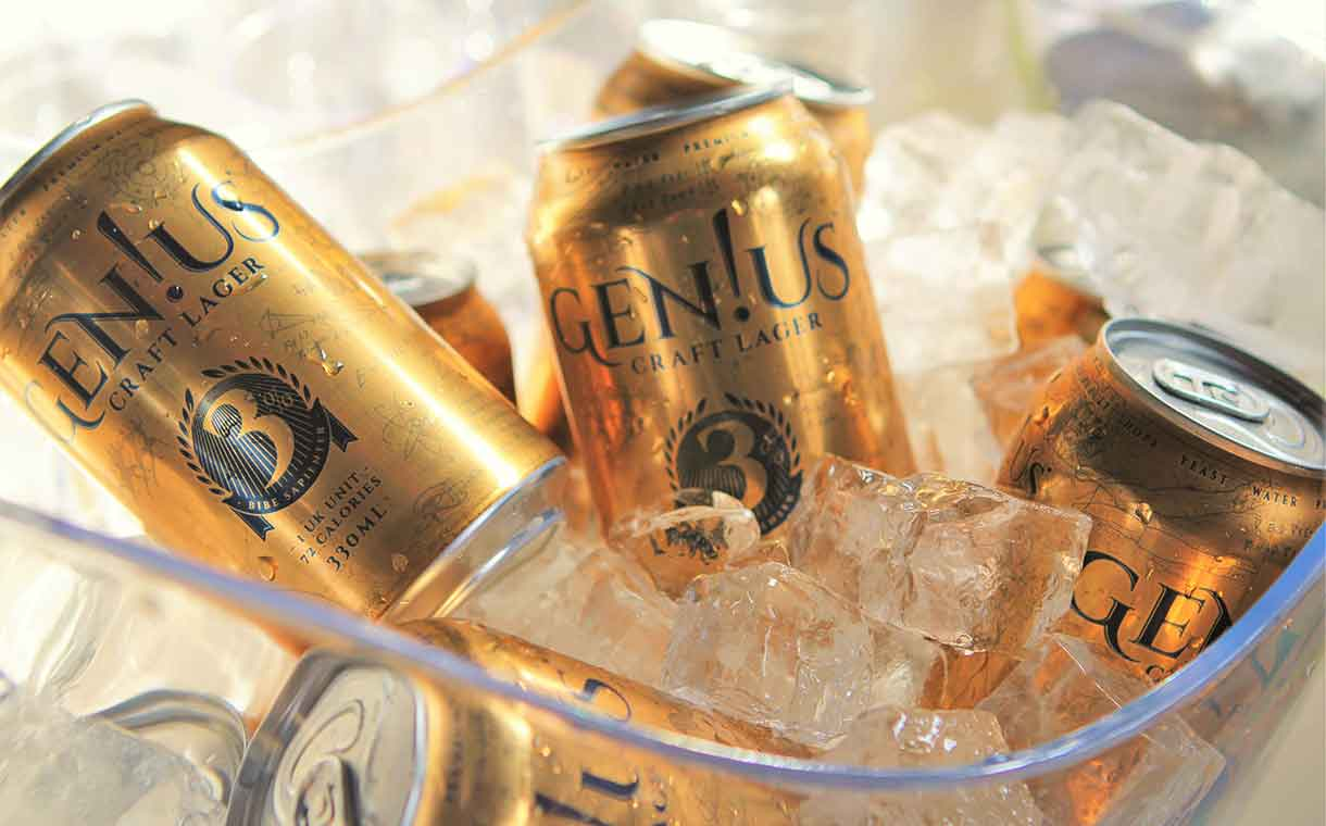 British brewer Gen!us launches 'light' craft beer with 72 calories