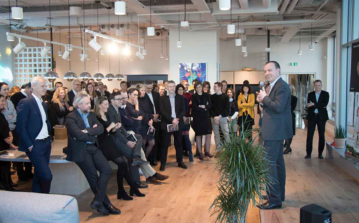 Givaudan opens digital factory in Paris to accelerate innovation
