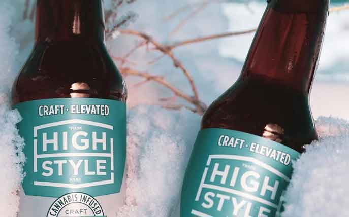 High Style unveils non-alcoholic beer infused with cannabis in US