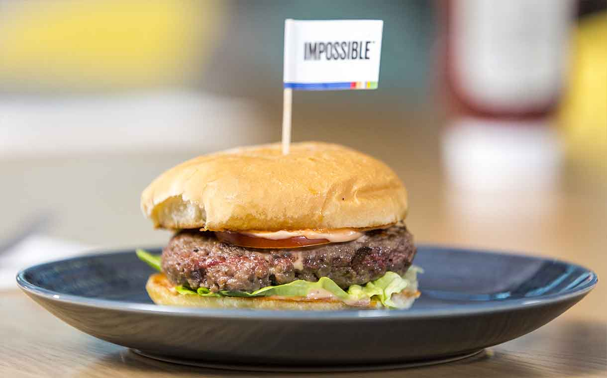 Impossible Foods launches new meat-free burger without gluten