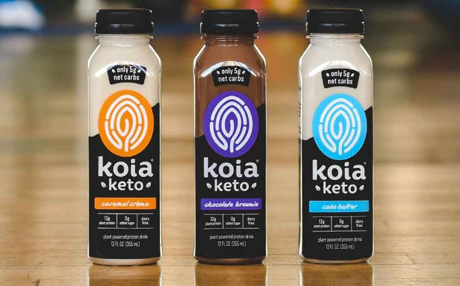 Koia releases three-strong range of keto-friendly drinks in the US