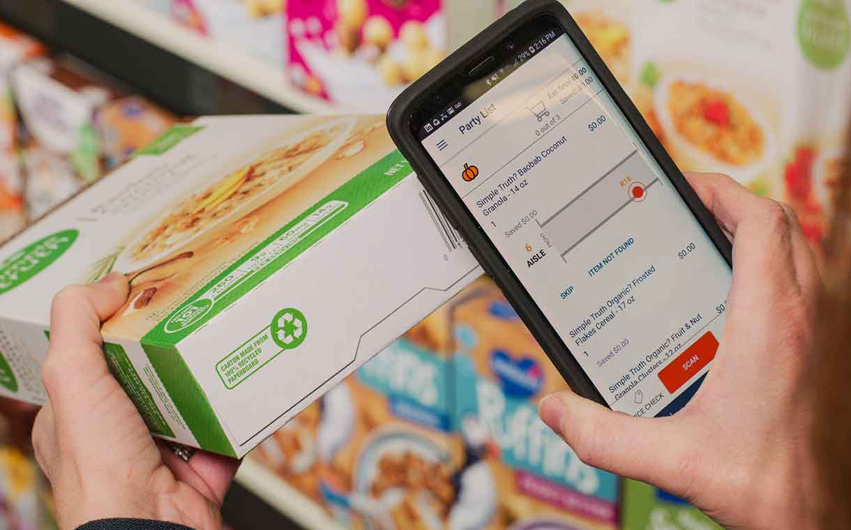 Kroger unites with Microsoft to pilot 'connected' supermarkets