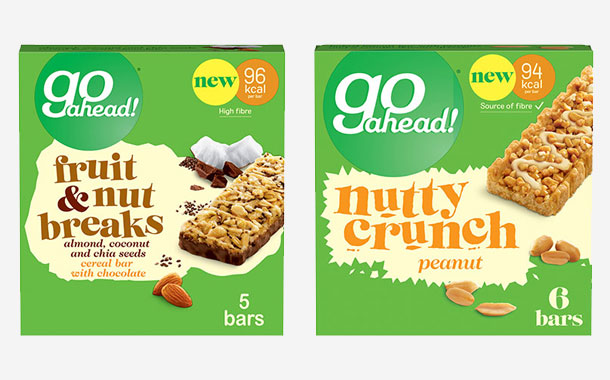 Pladis expands Go Ahead range with two low-calorie snack lines